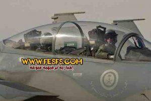 بالفيديو.. طيار سعودي يستعرض بمقاتلة أمام الحوثيين