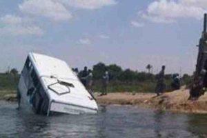 مصرع وإصابة 15 شخصا فى انقلاب ميكروباص بالبحيرة