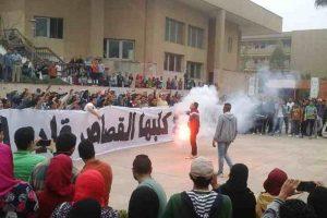 """الوايت نايتس"""" بجامعة حلوان يوجه رسالة لوزير الداخلية"""