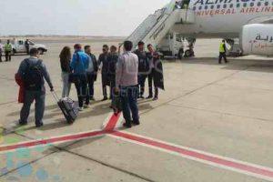 مطار شرم الشيخ يستقبل وفود مؤتمر القمة الاقتصادية