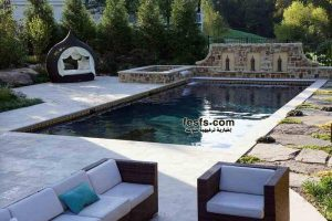 صور ديكورات حمامات السباحة 2015 , Rectangle Pool Gallery 2016