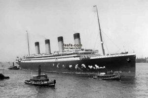 هل تعرف كيف غرقت السفينة العملاقة تيتانيك  ؟