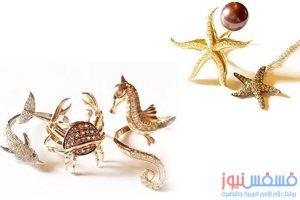 أروع المجوهرات المبتكرة والمستوحاة من عالم البحار