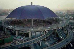 شاهد أكبر مظلة في العالم تدخل موسوعة جينيس