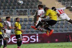 نتيجة مباراة الزمالك ووادي دجلة اليوم ببطولة الدوري المصري الممتاز