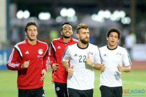 مران المنتخب المصري اليوم إستعداداً للقاء تشاد