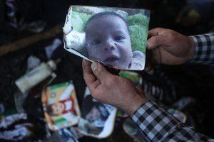 """بالفيديو.. تفاصيل حرق الطفل الفلسطيني الرضيع """" على سعد """" في نابلس"""