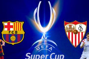 مشاهدة مباراة برشلونة واشبيلية مباشرة اليوم 11/8/2015