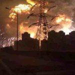 انفجار بمصنع كيماويات بشرق الصين يسفر عن مقتل وإصابة المئات