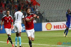 مباراة مصر و تشاد ، تشكيل المباراة والقنوات الناقلة لها اليوم
