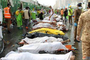 تعرف علي عدد وفيات الحجاج المصريين بعد حادث التدافع في مني