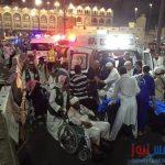 كشف باسماء المصريين المصابين بحادث سقوط رافعة الحرم المكي