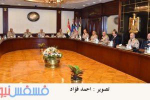 الرئاسة: السيسي يجتمع بأعضاء المجلس الأعلى للقوات المسلحة
