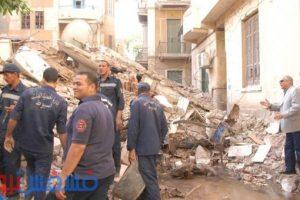 الحماية المدنية : انتشال 7 جثث إثر انهيار عقار في شبرا