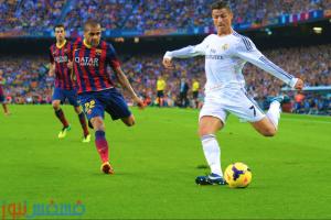مباراة ريال مدريد وبرشلونة القنوات المجانية الناقلة للكلاسيكو علي جميع الأقمار