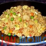 طريقة عمل الأرز البسمتى بالخضراوات في المنزل بسرعة