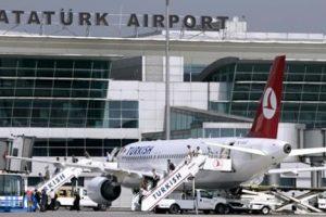 """اصطدام طائرة ركاب بعمود إنارة في مطار """"أتاتورك"""" بإسطنبول"""