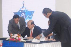 تفاصيل حفر تفريعه جديدة لقناة السويس في بورسعيد