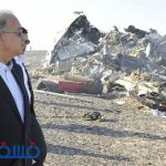 صور.. شاهد مأساة سقوط الطائرة الروسية في صحراء سيناء