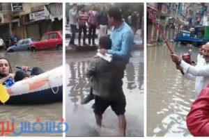 ابتكارات وغرائب المصريين في مواجهة الطقس السيئ