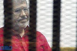 أخبار محاكمة مرسي : تأجيل محاكمة المعزول في قضية التخابر  لـ 2 يناير