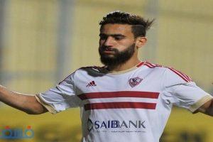 الزمالك يقرر إيقاف باسم مرسي لاعب الفريق