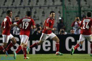 مباراة الأهلي وحرس الحدود علي إستاد برج العرب بالإسكندرية
