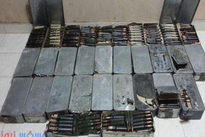 أخبار سيناء اليوم: ضبط مخزن أسلحة ومتفجرات في وسط سيناء