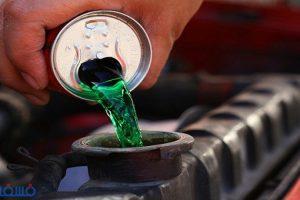 تأثير الماء الخضراء والماء العادية عند استخدامها داخل الرادياتير