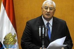 """آخر أخبار مصر اليوم : عدلي منصور يصدر 4 أحكامًا في """" الدستورية """""""