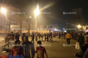مقتل شخص برصاص أمين شرطة والأهالي يحاصرون مديرية أمن القاهرة