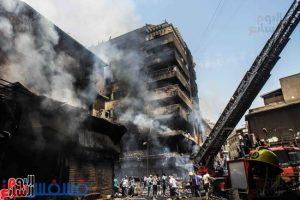 أرتفاع ضحايا حريق العتبة إلي 3 وفيات و91 مصاباً