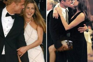 """رد فعل غريب من الممثلة """"جينيفر أنيستون"""" بعد طلاق انجلينا جولي وبراد بيت"""