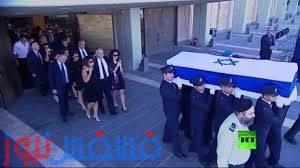 جنازة الرئيس الإسرائيلي السابق شمعون بيريز، الذي فارق الحياة الأربعاء الماضي