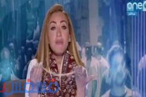 الإعلامية ريهام سعيد تخلع شعرها المستعار على الهواء وتشكر اليوم جريدة اليوم السابع
