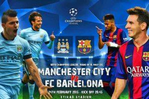 نتيجة مباراة برشلونة ومانشستر سيتي اليوم ملخص مباراة برشلونة ومان سيتي برشلونة يسجل أربعة أهداف