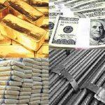 أخبار الاقتصاد في جمهورية مصر العربية : لأسعار الدولار و الذهب و الحديد والأسمنت