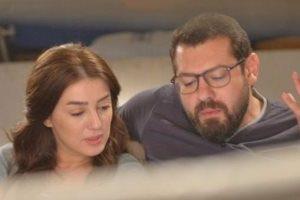 عقد قران من الفنان عمرو يوسف  لكندة علوش في الأسبوع الماضي