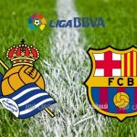أهداف مباراة برشلونة وريال سوسييداد يوتيوب 1/1 ملخص مباراة برشلونة اليوم تعليق حفيظ دراجي