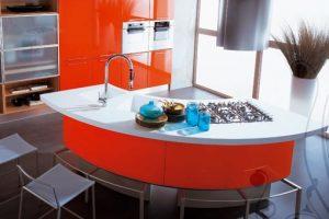 أفكار جديدة لدواليب المطبخ