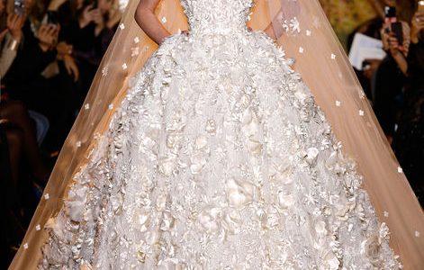 فساتين زفاف من تصاميم المصمم العالمي زهير مراد