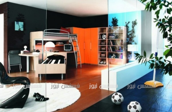 غرف نوم شباب مراهقين