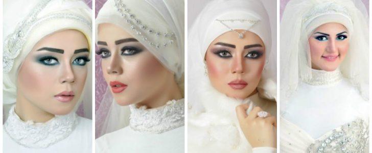 أحلى وأجمل لفات طرح لعروسة عيد2017