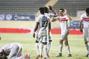 نتيجة مباراة الزمالك وبتروجيت في الدوري المصري الممتاز