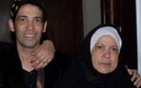 بالصور تشييع جنازة والدة الفنان سعد الصغير