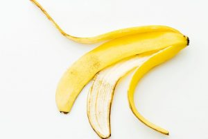 لا ترمى قشور الموز