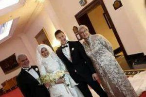 بالصور حفل زفاف رمضان صبحي من نجلة إكرامي