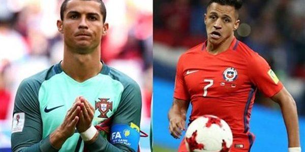 نتيجة مباراة البرتغال وتشيلي بكأس القارات