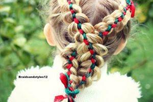 تسريحات شعر الأطفال ليوم العيد