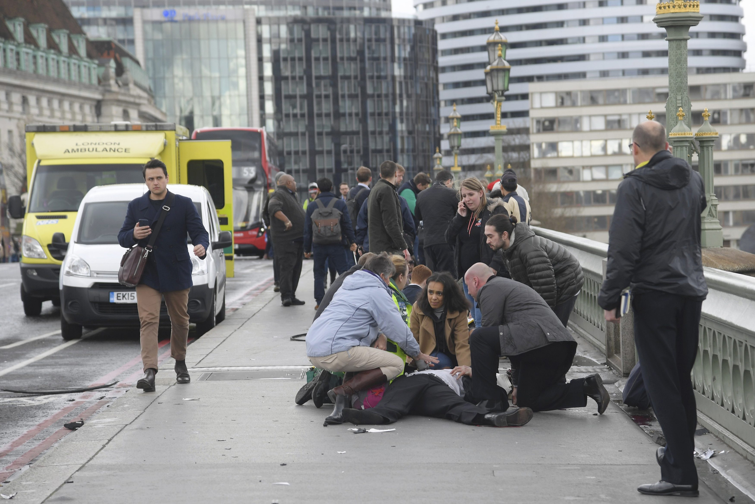 هجوم لندن الاخير